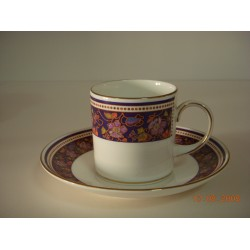 Fine Bond China Can Coffee cup and saucer