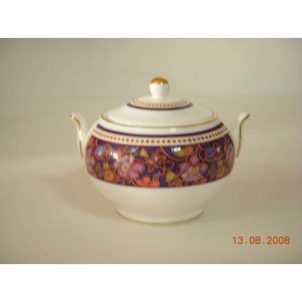 Fine Bone China Sugar Box s/s