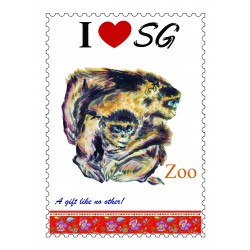 Zoo-Poster-Stamp-Design-A4-Size