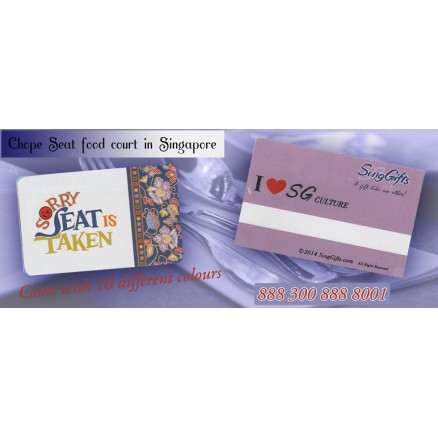 Chope Seat Cards