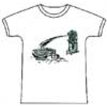 Tug boat Design White T-shirt