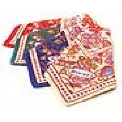 Batik Print Handkerchief Set of 4 colors