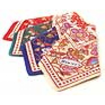 Batik Print Handkerchief Set of 4 colors